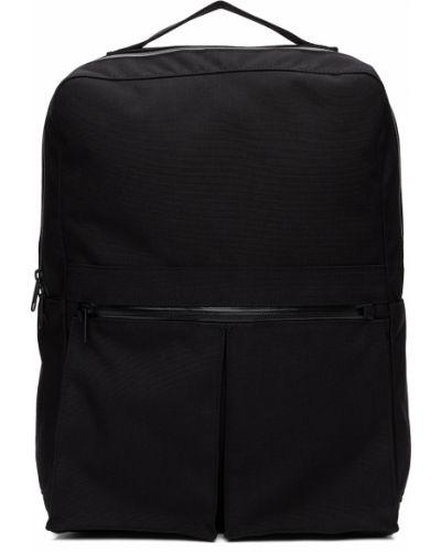 Klasyczny czarny plecak na laptopa z nylonu Comme Des Garcons Homme Deux