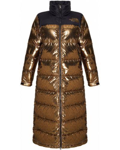 Пуховик двусторонний пальто The North Face