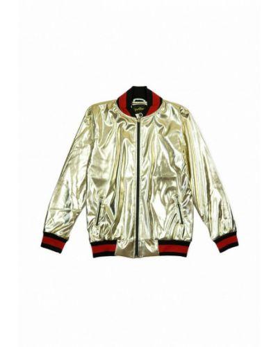 Куртка золотой из золота Yumster