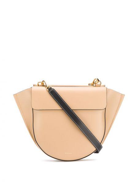 Кожаная сумка среднего размера сумка-тоут Wandler