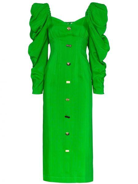 Платье миди на пуговицах на молнии Rejina Pyo