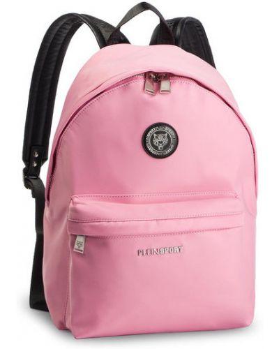 Różowy sport plecak Plein Sport
