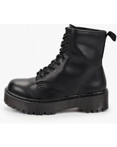 Черные кожаные ботинки Martin Pescatore