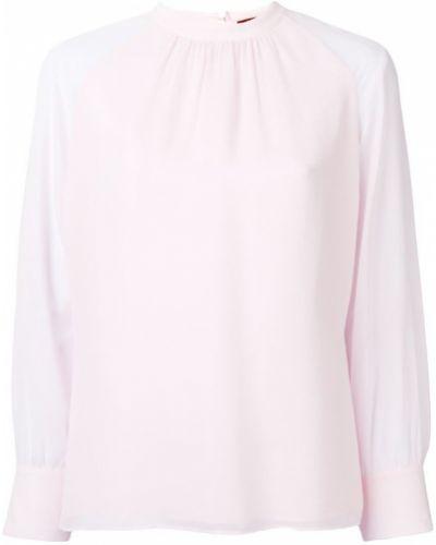 Блузка с манжетами - розовая Max Mara Studio