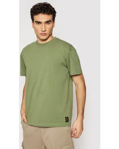 Zielona t-shirt Deus Ex Machina