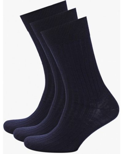 Синие носки Marks & Spencer