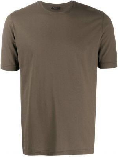 Koszula krótkie z krótkim rękawem wojskowy prosto Dell'oglio