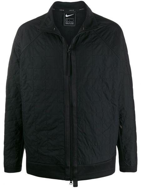 Куртка черная на молнии Nike