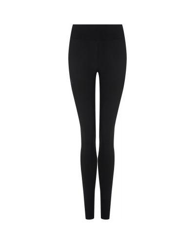 Теплые зауженные черные спортивные брюки Salomon
