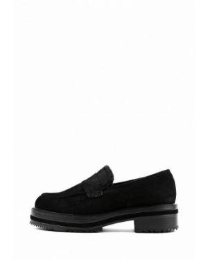 Черные замшевые туфли Sasha Fabiani
