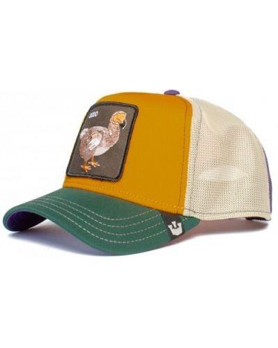 Pomarańczowa czapka Goorin Bros