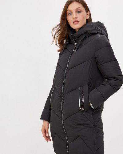 Черная утепленная куртка Fadjo