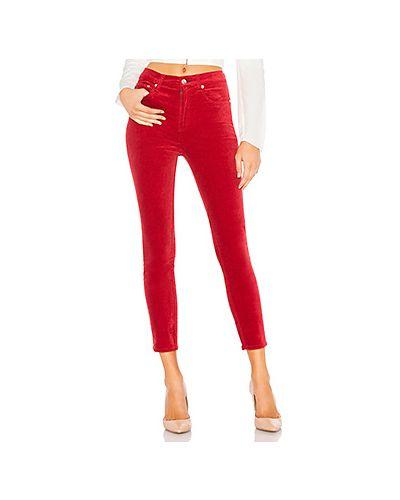Классические брюки зауженные вельветовые Rag & Bone/jean