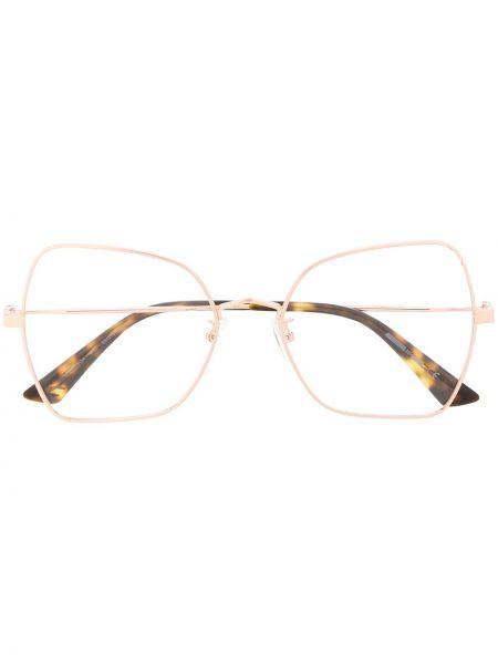 Oprawka do okularów ze złota Mcq Alexander Mcqueen