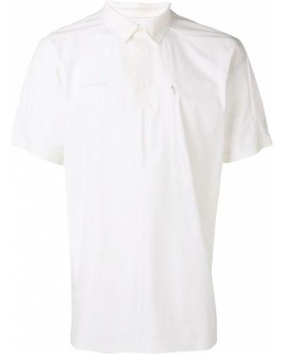 Рубашка с короткими рукавами с карманами белый Mammut Delta X
