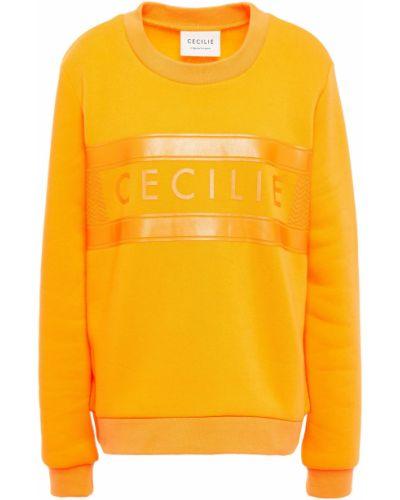 Флисовый свитшот - оранжевый Cecilie Copenhagen