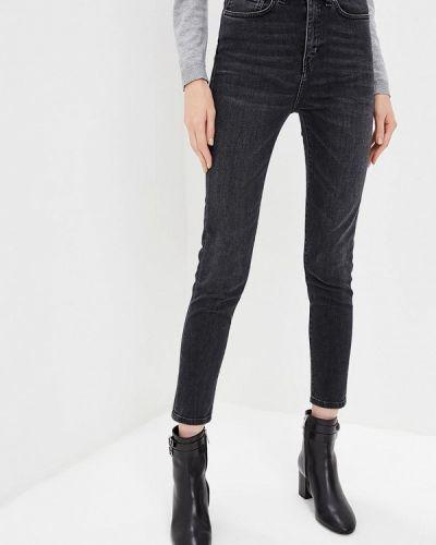 Серые джинсы-скинни Trussardi Jeans