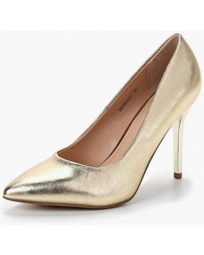 Туфли-лодочки на каблуке кожаные T.taccardi