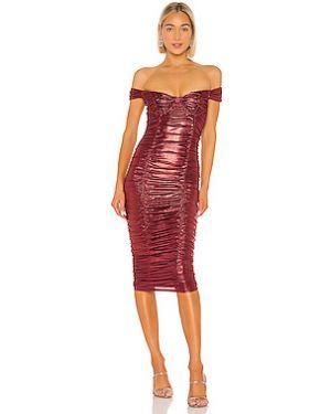 Платье миди с чашками Majorelle