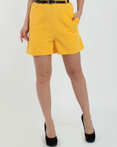 Желтые шорты Modna Anka