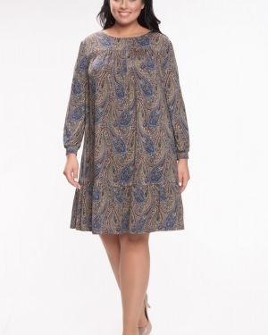 Деловое платье на пуговицах платье-сарафан прима линия