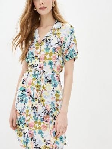 Платье платье-рубашка весеннее Jacqueline De Yong