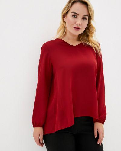 Блузка красная итальянский Keyra