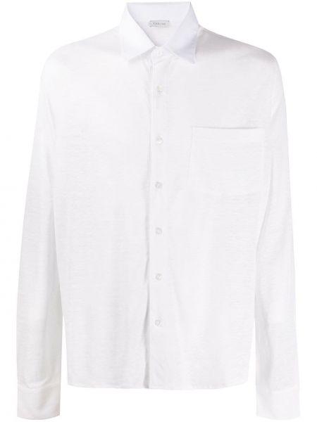 Koszula z długim rękawem klasyczna z kieszeniami Caruso