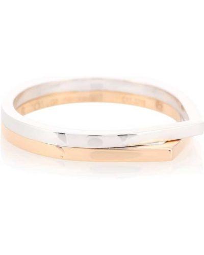 Biały pierścień Repossi