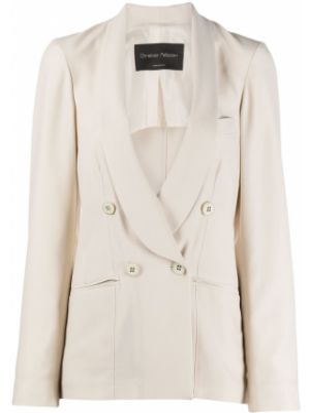 Куртка с манжетами на пуговицах с карманами из вискозы Christian Pellizzari