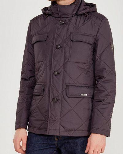 Коричневая утепленная куртка Bazioni