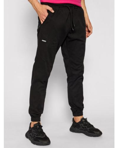 Klasyczne czarne joggery Diamante Wear
