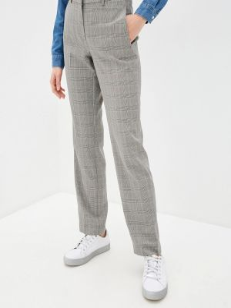 Серые классические брюки с карманами Marks & Spencer