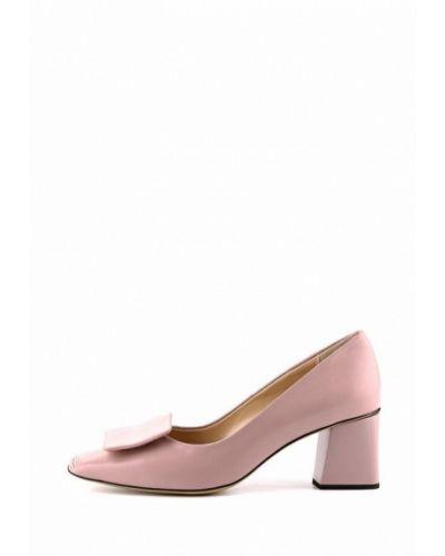 Кожаные туфли - розовые Ilvi