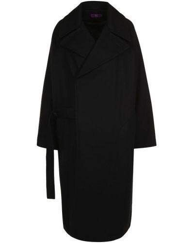 Пальто свободное шерстяное Yohji Yamamoto