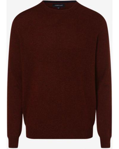 Z kaszmiru sweter - pomarańczowy Andrew James