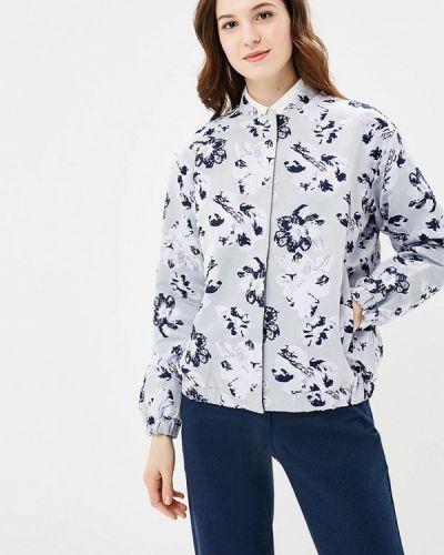 Серая куртка облегченная Baon