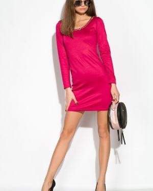 Нарядное платье - малиновое Time Of Style