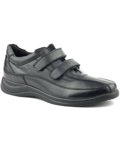 Кожаные ботинки - черные Lumberjack
