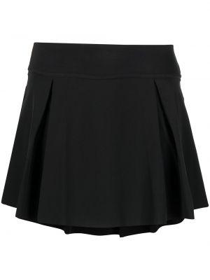 Черная плиссированная юбка с поясом Nike