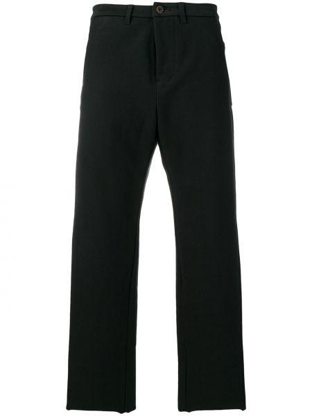 Прямые черные прямые брюки с поясом с высокой посадкой Individual Sentiments