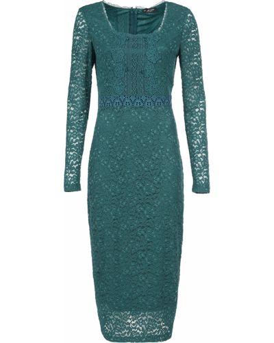 Хлопковое платье - зеленое Twin-set