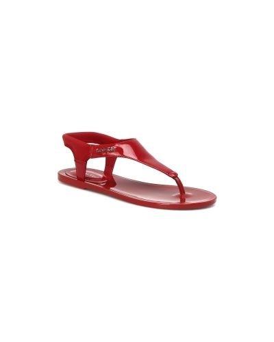 Сандалии красные Calvin Klein