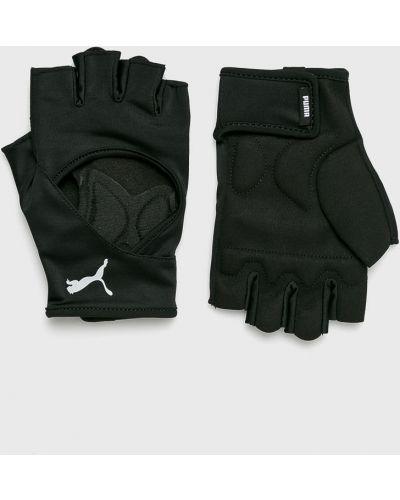 Перчатки нейлоновые черные Puma