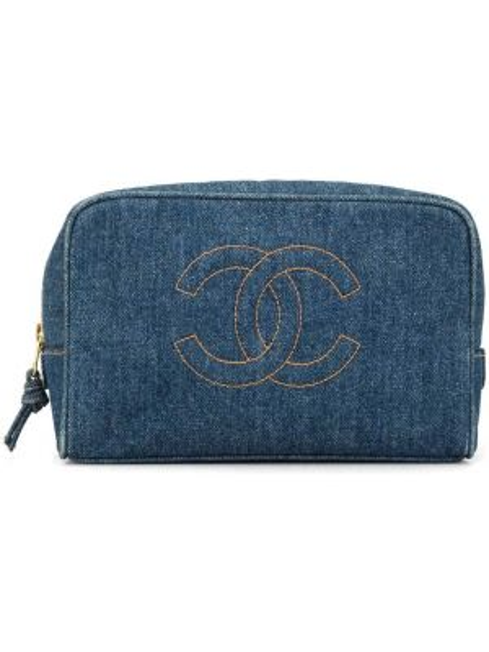 Сумка джинсовая на молнии Chanel Pre-owned