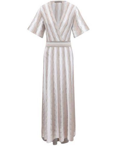 Платье из вискозы - бежевое D.exterior