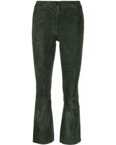 Зеленые брюки из спандекса Arma