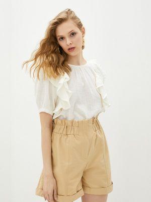 Бежевая блузка с оборками Compania Fantastica