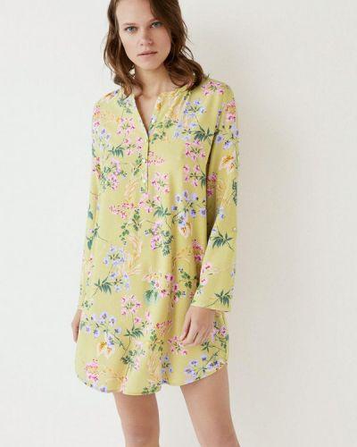 Платье весеннее желтый Women'secret
