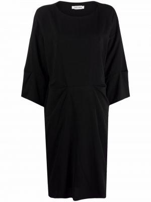 Черное платье мини с вырезом Henrik Vibskov